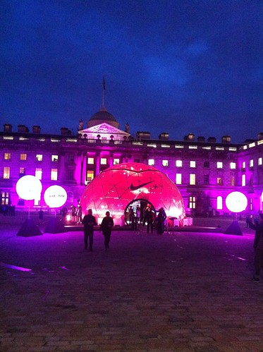 Flyknit experience at Somerset House