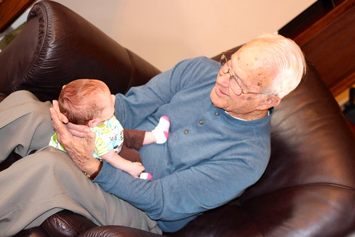 Great-Grandparents Visit