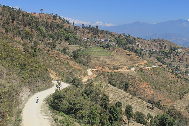 Cycling in Gorkha