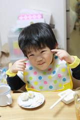 食事とらちゃん 2013/3/9