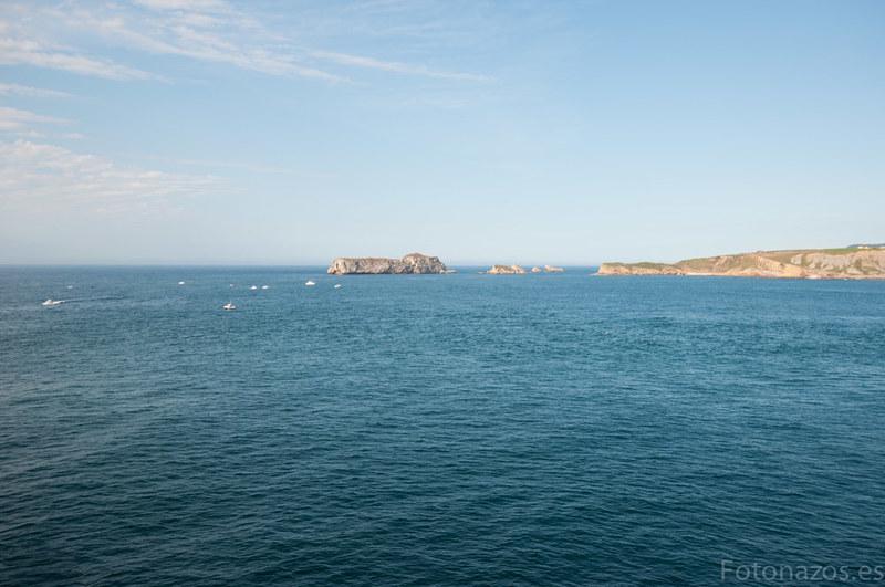 El faro de Punta del Torco de Afuera, el faro de Suances