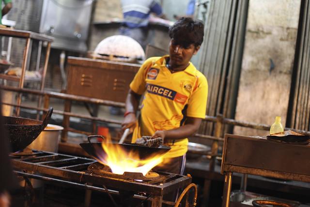 VV Puram Food Street Boy
