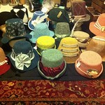 Nightly progress shot of the Hat Cave, the I'm-Too-Tired-To-Stand-Up edition. #QuickToTheHatCave!