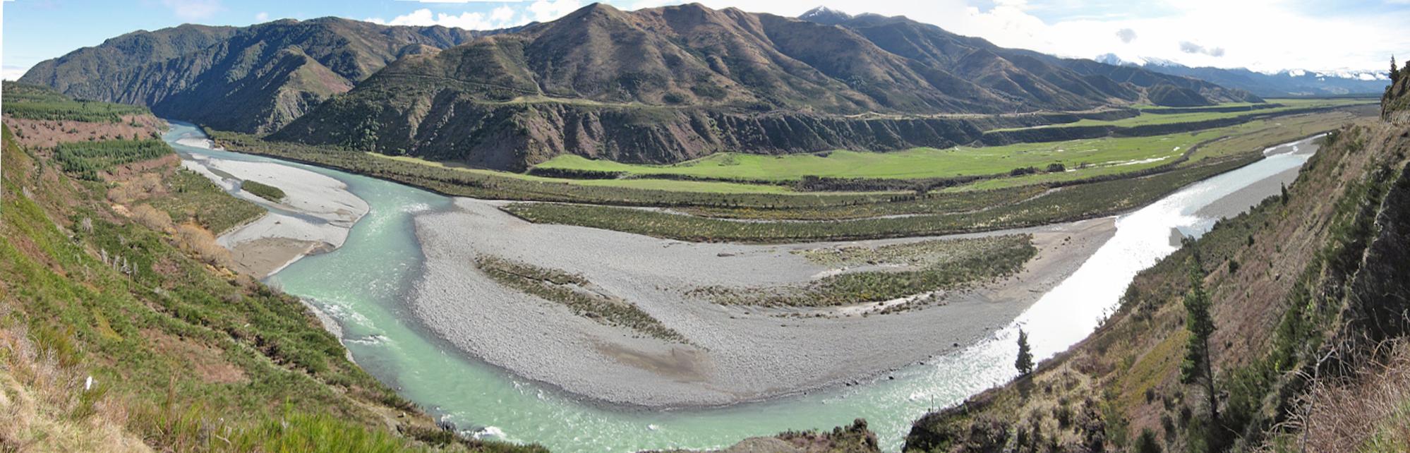terrazas fluviales r o waiau nueva zelanda 01