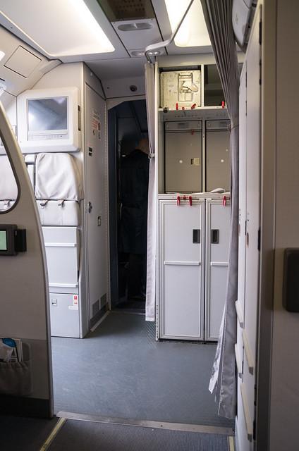 アリタリア-イタリア航空 A320-200 機内
