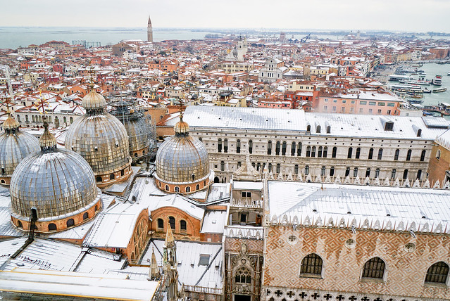 Venice view from the Campanile