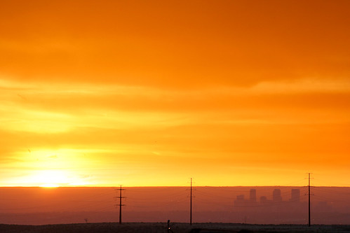 morning orange yellow sunrise colorado unitedstates cityscapes denver arvada