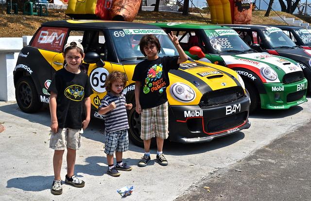 mini cooper car race - guatemala