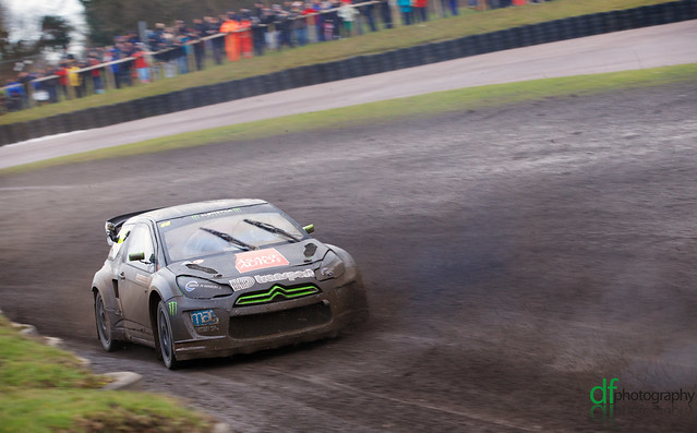 Monster Energy - Andreas Bakkerud - British RallyX Rnd1 Final