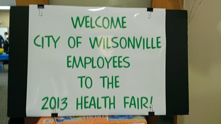 Welcome to the Health Fair!