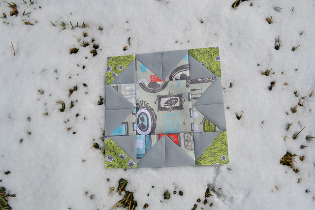 Virtual Quilting Bee Block One