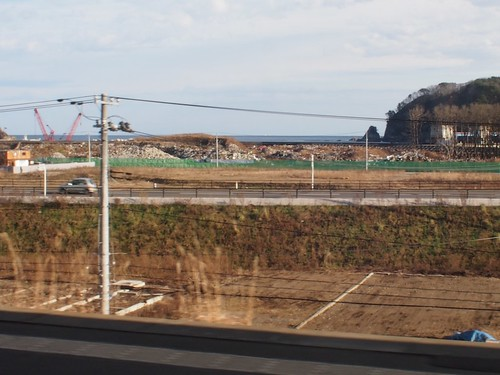 三陸鉄道田老駅周辺