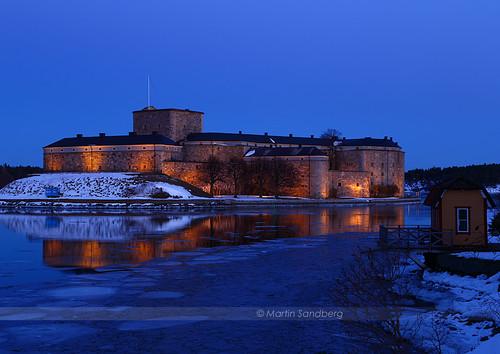 winter ice sweden citadel bluehour vaxholm fästning canonef24105mmf4lisusm canoneos6d