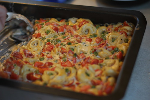 Garden Vegetable Tortellini Bake