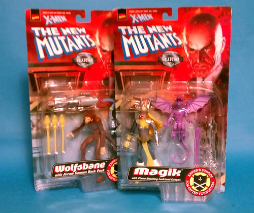 New Mutants Wolfsbane and Magik package