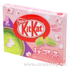 Sakura Green Tea KitKat