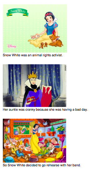 The Snow White story reworked