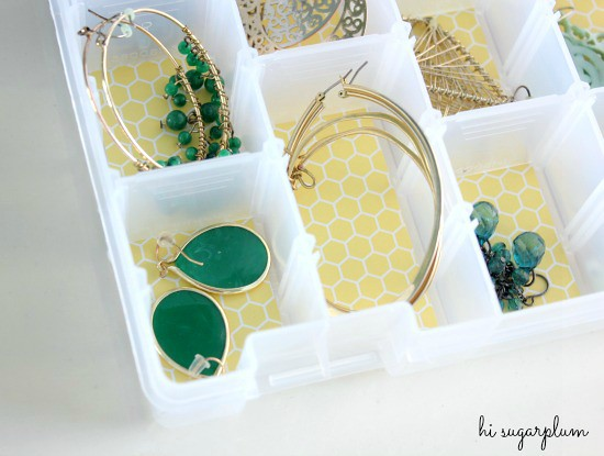 Hi Sugarplum | Organized Earring Caddy