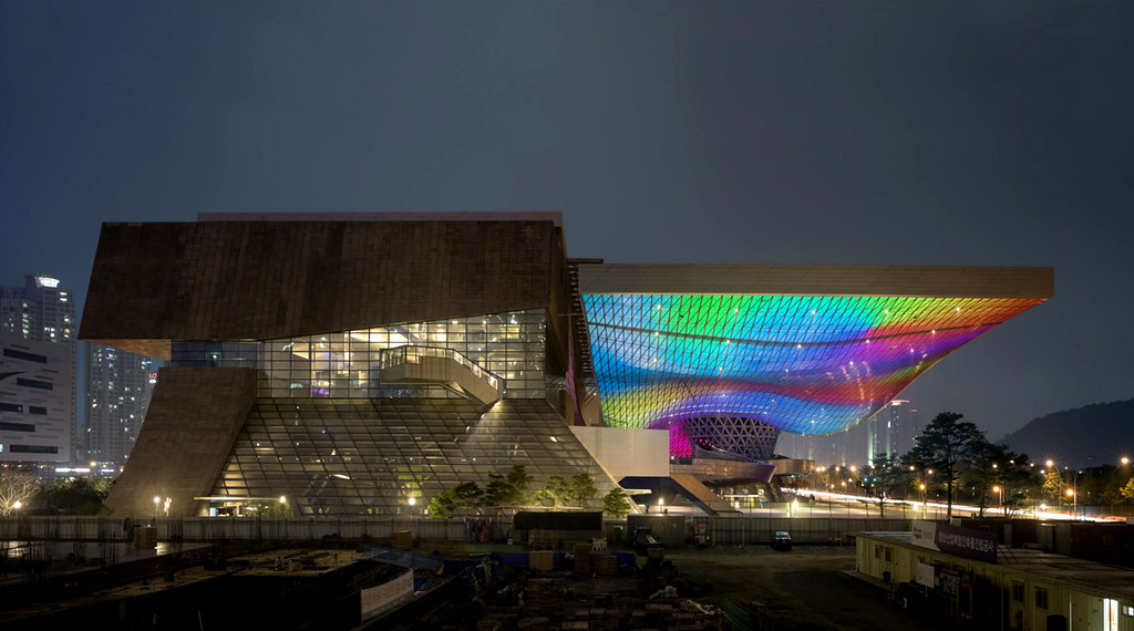 Cinema Center in Busan, South Korea  design by Coop Himmelb(l)au