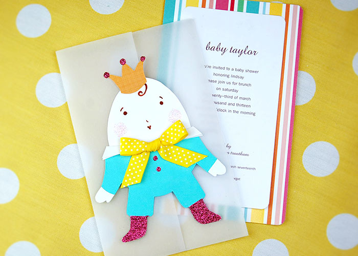 Humpty Dumpty Baby Shower Invite