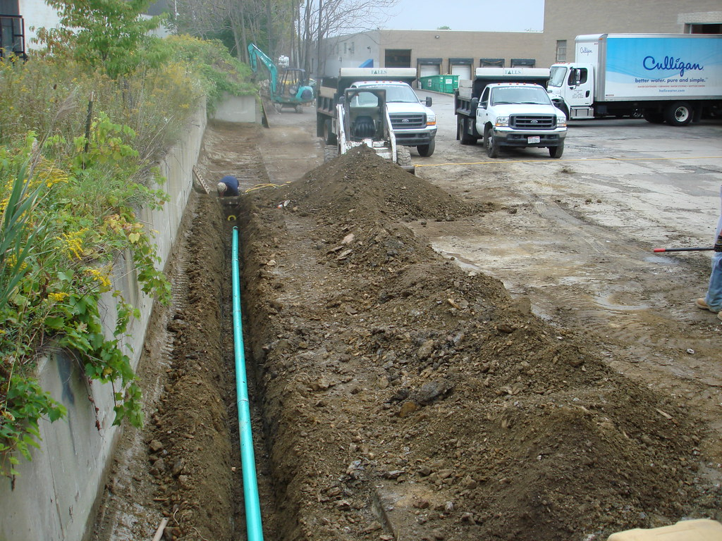 water proofing Drainage French Drainage Excavating