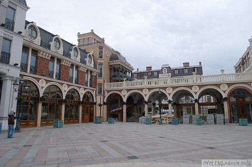 Building architecture in Batumi