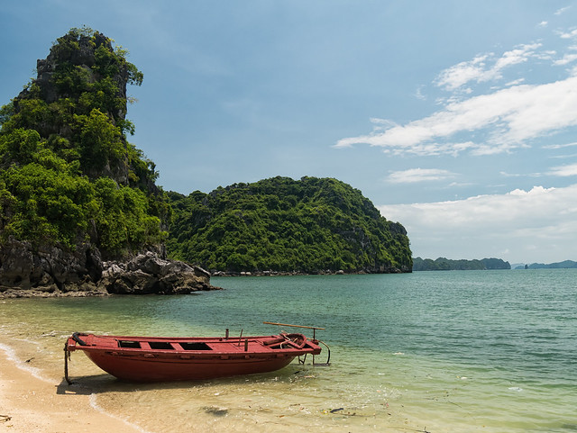 Beach, Ha Long Bay
