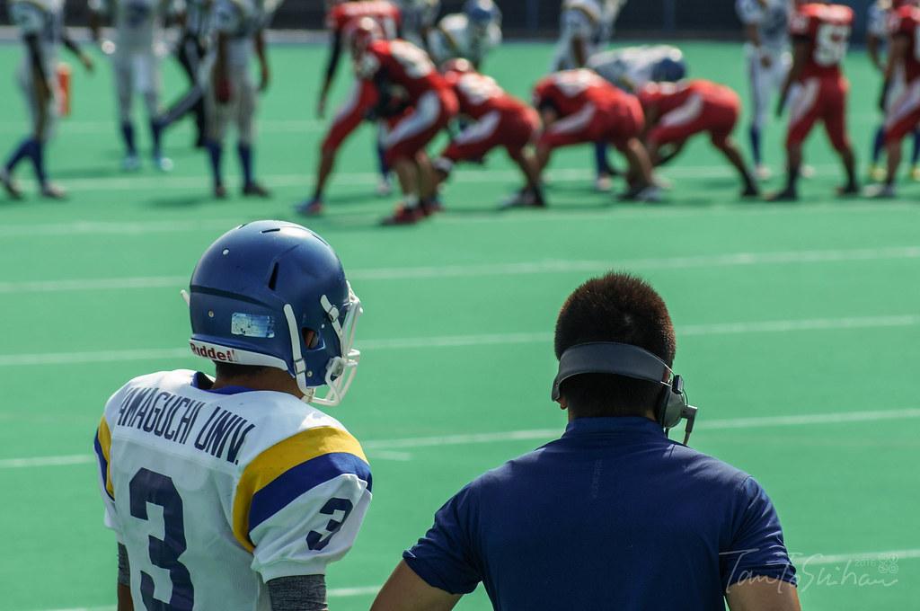 島根大ー山口大(中四国学生アメリカンフットボールリーグ戦 2016)