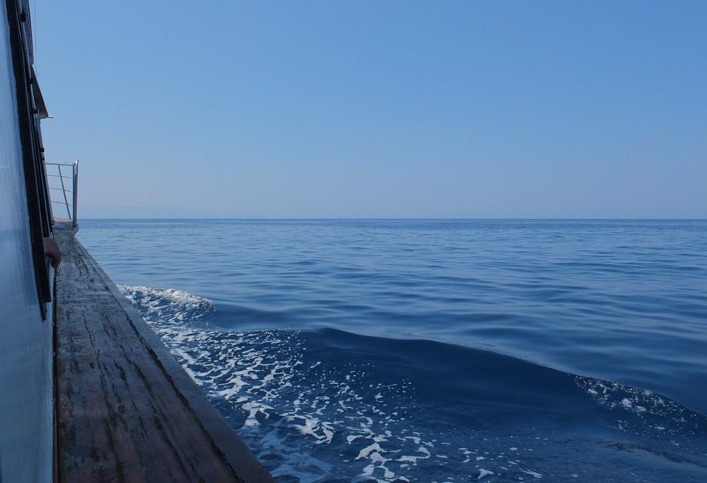 Barco em Chania