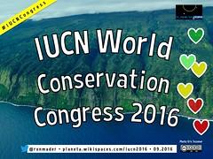 IUCN World Conservation Congress #IUCNCongress