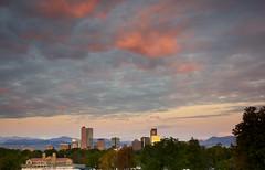 Denver Skyline at Sunrise