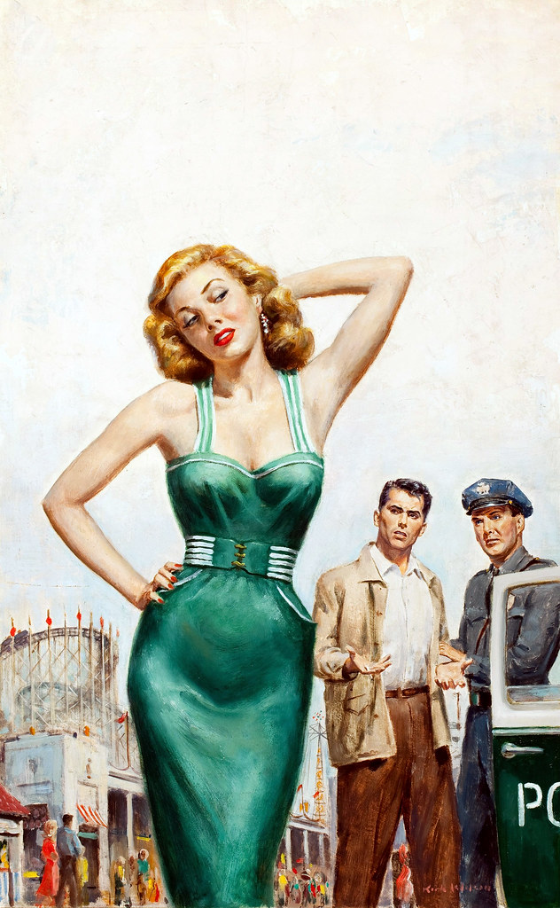 Catch the Brass Ring, cover by Kirk Wilson, 1954