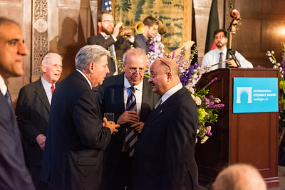 ISH Board Member Larry Dunham, Elias Aburdene, HRH Prince Abdullah bin Faisal of Saudi Arabia
