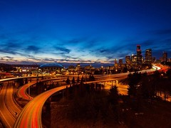 Here's an old shot from earlier this year at Jose Rizal Bridge in #Seattle . I've been so busy preparing for my Europe trip, so I had to post something I've already shot. I haven't even touched my camera since my last wedding! Travel prep stresses me out,