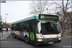Irisbus Agora Line - RATP (Régie Autonome des Transports Parisiens) / STIF (Syndicat des Transports d'Île-de-France) n°8340