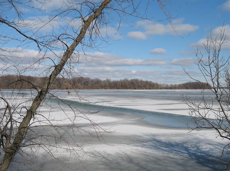Lake Mendota freeze over