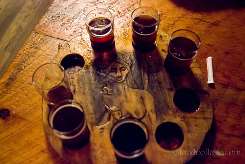 Beer Sampler at North Country Brewing