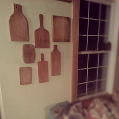 New on the kitchen wall. Love useful art.