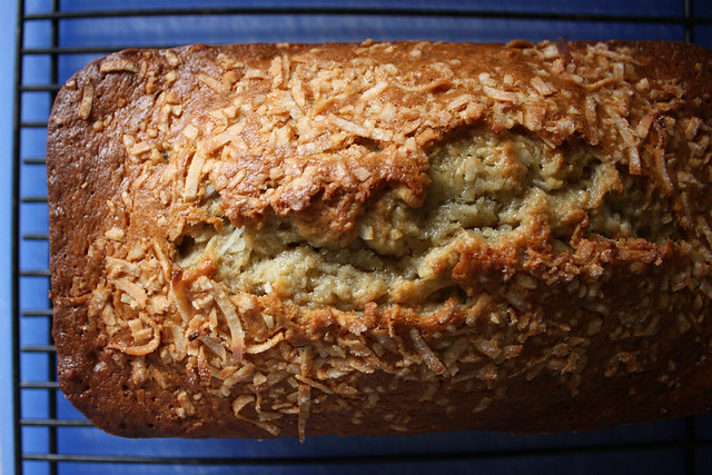 Coconut Lime Banana Bread (Cooking Light)
