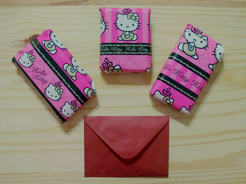 Package unboxing: Hello Kitty, Fake Nails (uñas postizas), Stamps (sellos)
