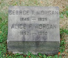 George Morgan headstone