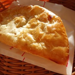久しぶりにモスバーガーのアップルパイ。風邪をひいているので、味がよくわからない。