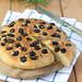 Focaccia con farina di grano Timilia olive e rosmarino by fiordifrolla