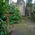 Original Schiffsanker auf dem Südfriedhof in Leipzig