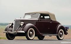 automobile, vehicle, antique car, sedan, ford model b, model 18, & model 40, classic car, vintage car, land vehicle, luxury vehicle,