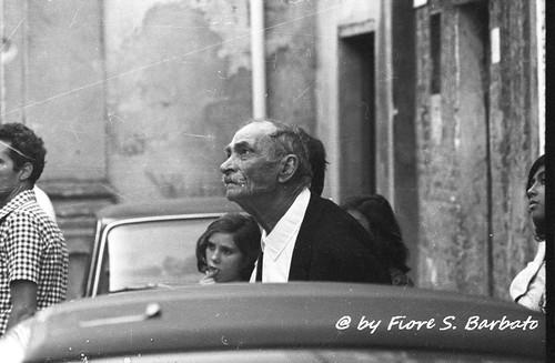 Stelletanone (RC), 1972, Festa e processione di San Rocco.