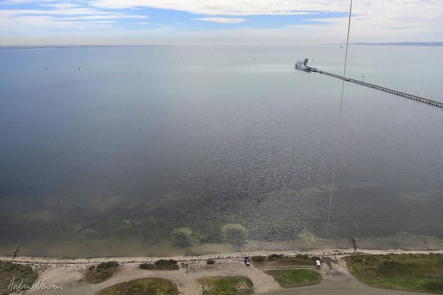 Py Henry Wharf by kite