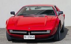ferrari 288 gto(0.0), ferrari 308 gtb/gts(0.0), ferrari 328(0.0), ferrari s.p.a.(0.0), supercar(0.0), race car(1.0), automobile(1.0), maserati merak(1.0), vehicle(1.0), automotive design(1.0), maserati bora(1.0), land vehicle(1.0), luxury vehicle(1.0), coupã©(1.0), sports car(1.0),