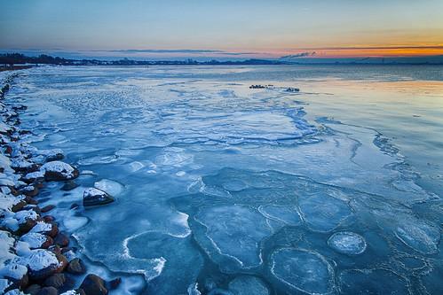 blue winter sunset sea snow cold ice water coast frozen skåne rocks sweden stones fav20 shore sverige 24mm scandinavia vatten scania oresund zweden lomma skane fav10 canoneos5dmarkii ef24mmf14liiusm