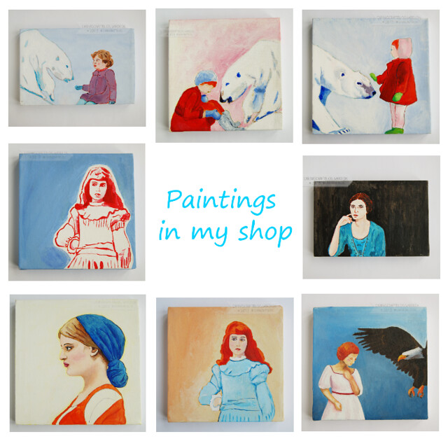 paintings in my shop